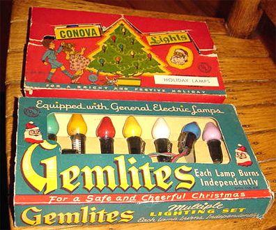 vintage christmas tree lights - Antique Christmas Lights