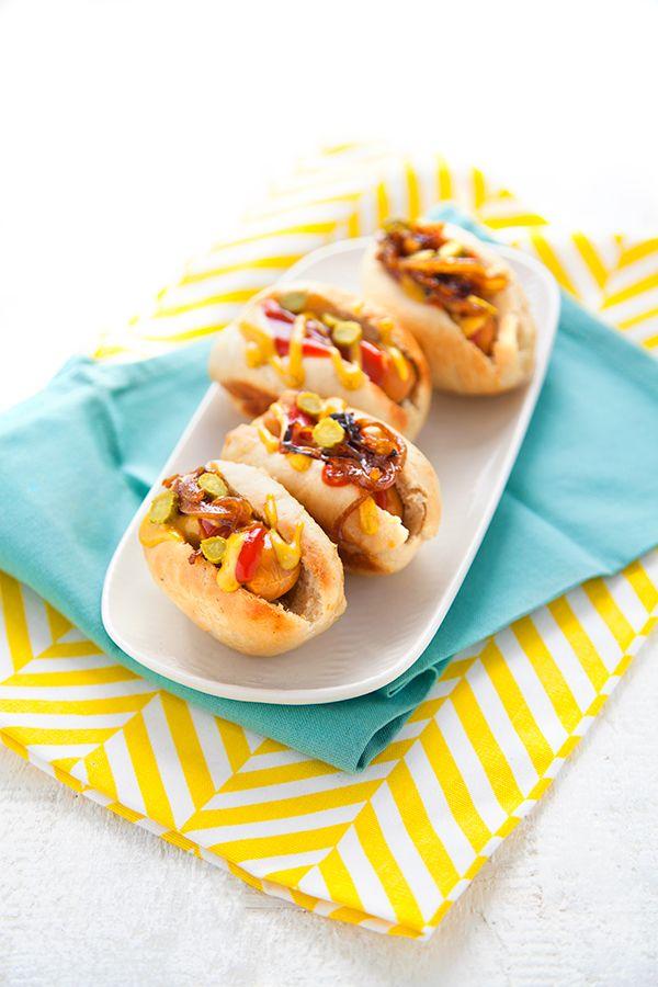 best 25 mini hot dogs ideas on pinterest corn dogs. Black Bedroom Furniture Sets. Home Design Ideas