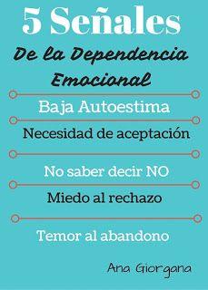 parejasparejasparejas: Señales de la dependencia emocional