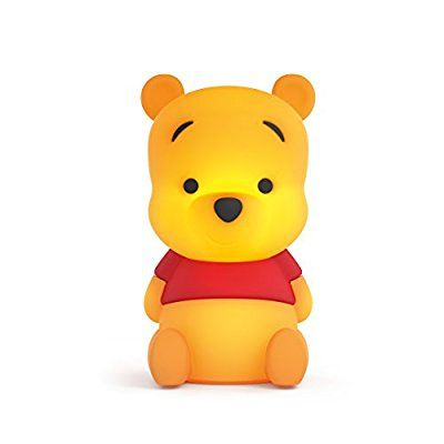 Philips Disney Winnie the Pooh Children's Guided USB Charging Night Light and Softpal - Yellow Night Lamp