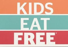Over 25 Local restaurants in East Orlando-kids eat for free! Install the free East Orlando Deals app! #eastorlandodeals