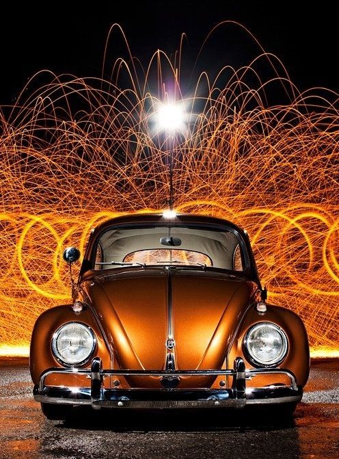 Copper/ Car/ VW
