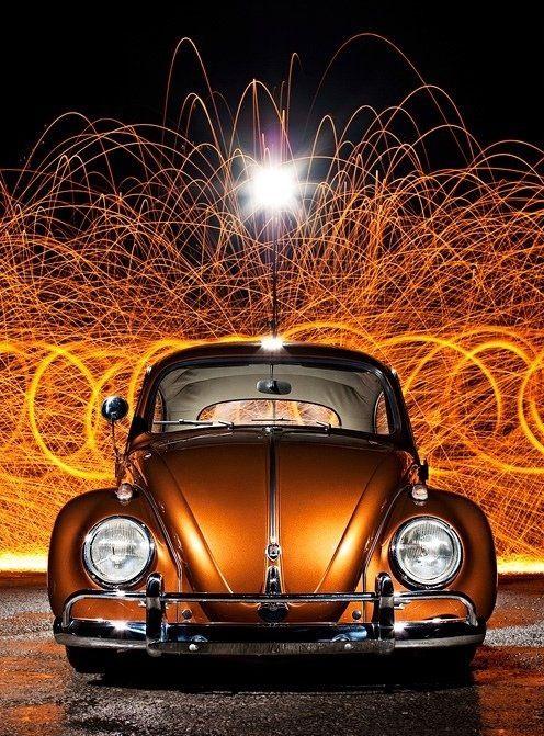 Copper/ Car/ VW