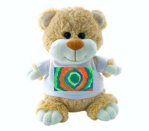 Kid's Art - Teddy Bear (Personalise Him!)