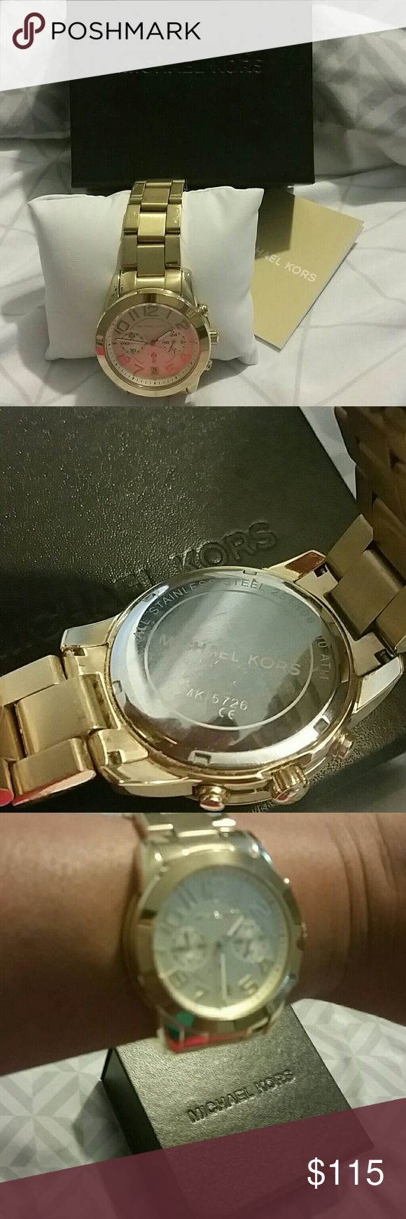 Michael Kors Watch MK Authentic Watch, New with booklet,pillow &box Michael Kors Accessories Watches