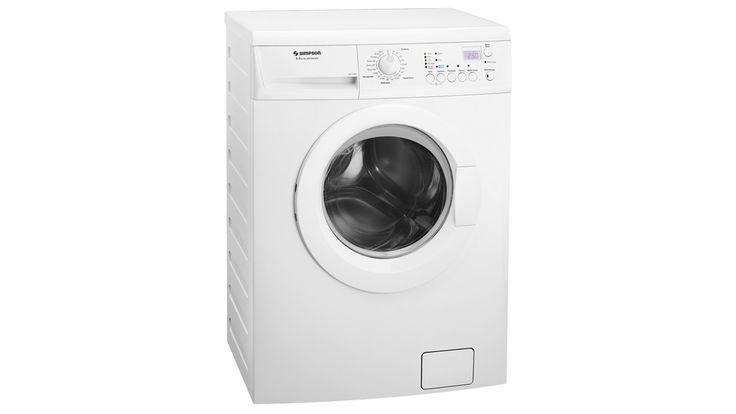 Simpson Sensor 8kg Front Loading Washing Machine