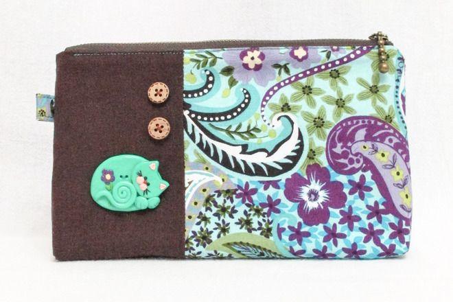 Handmade Handbag / Cosmetic Pouch - S$24.80