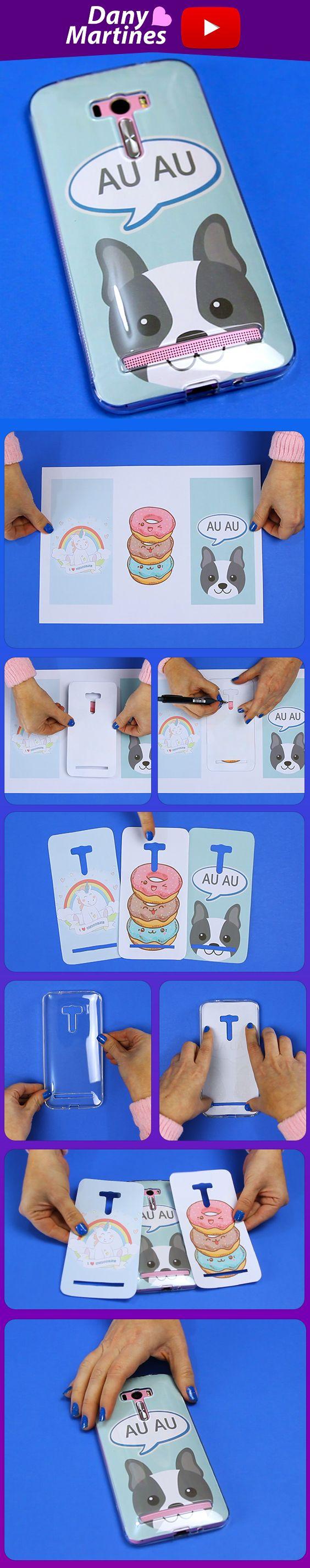 Faça você mesmo várias capinhas de celular com apenas impressões, diy, do it yourself, case, capinha de celular, cellphone, funda