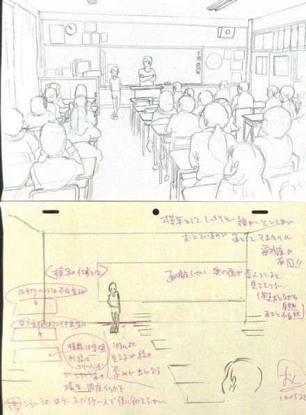 # ア メ ni # private school classroom with people moving, really recommend this ...