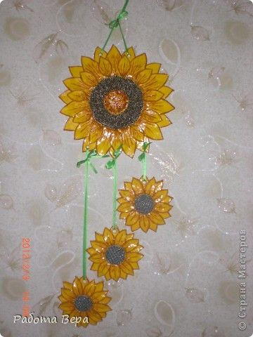 Sunflower wall hanging That turned a handsome sunny