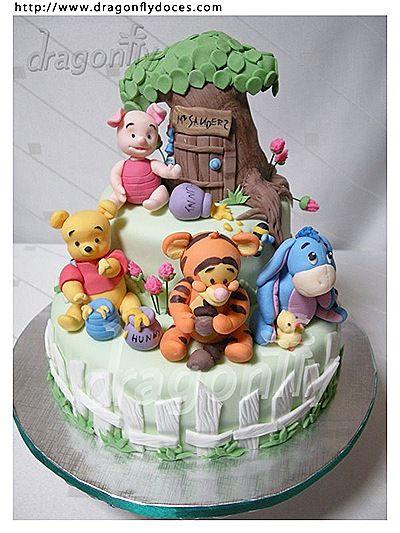 Attractive Winnie The Pooh Cakes U2013 Baby Pooh
