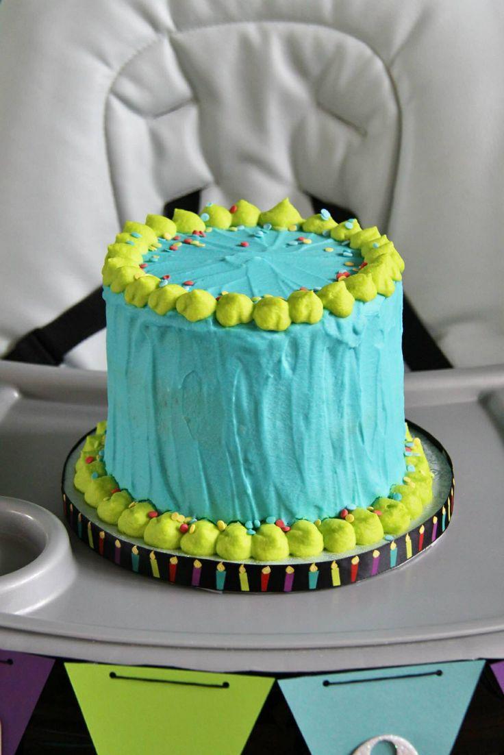 Monsters Inc Cake Smash