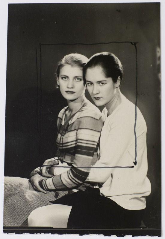 Man Ray, Lee Miller & Tanja Ramm, 1930