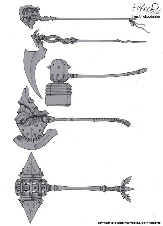 Sword ideas Axe Hokoodo