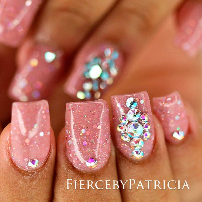 Unique Nail Art Designs With Jewels Picture Pictures - Nail Art ...