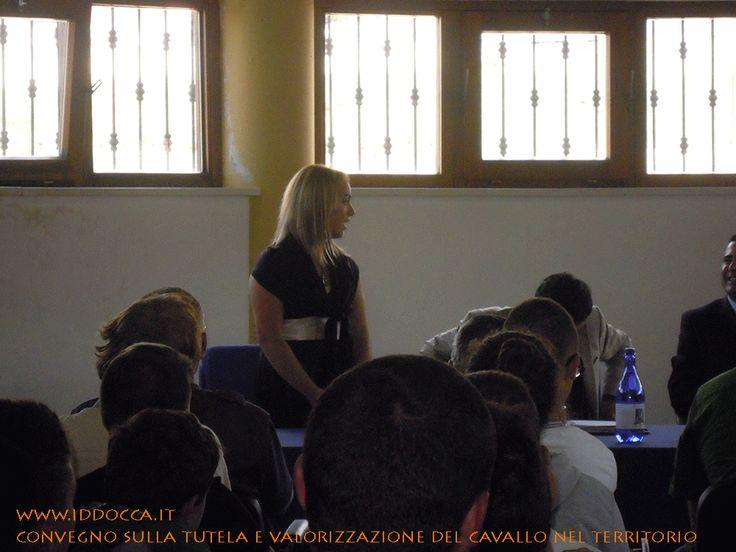 I ringraziamenti della Presidentessa dell'ASD equestre Genonese