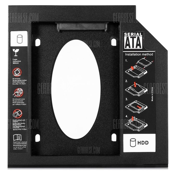 23S9B - RTK Second SATA HDD Hard Drive Caddy #Shoproads #onlineshopping #Network Interface Cards