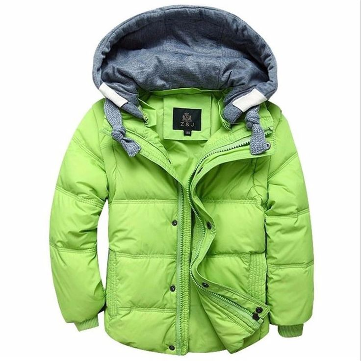 35.00$  Know more - http://aibxu.worlditems.win/all/product.php?id=32758470028 - 2 in 1 Children Detachable Cap Sleeves Hooded Duck Down Jackets Boys Kids Winter Warm Coats Down Parkas Children's Outerwear