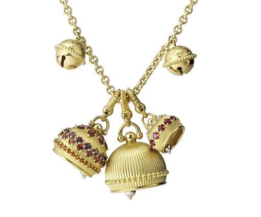 paul morelli meditation bells necklace
