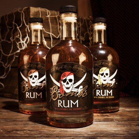 Bombo Pirate Rum from Firebox.com