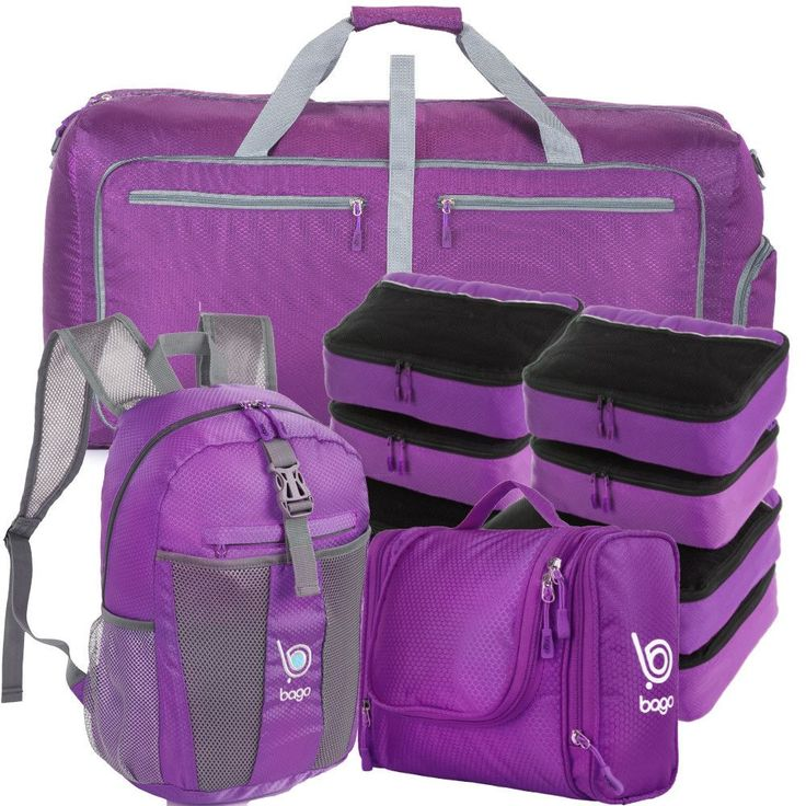 Family Travel Set - 10 Set Luggage and Accessories Organizer System