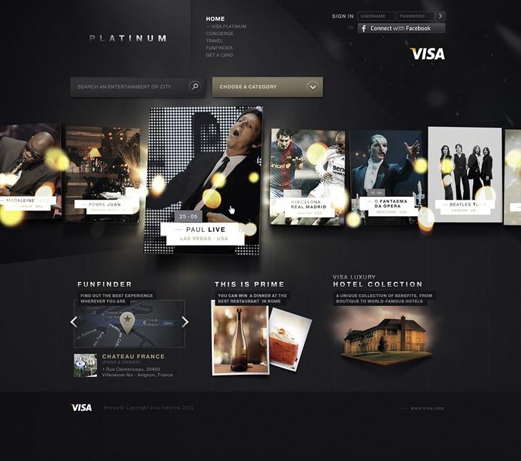 Visa Platinum  by Diogo Akio