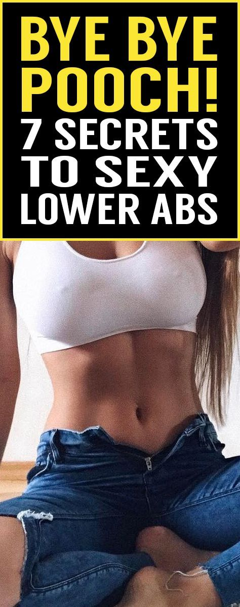 Stuck with stubborn pooch fat? Try these 7 secret tips that will help you lower your belly fat without spending hours and hours in the gym! #cardiomenfatburning