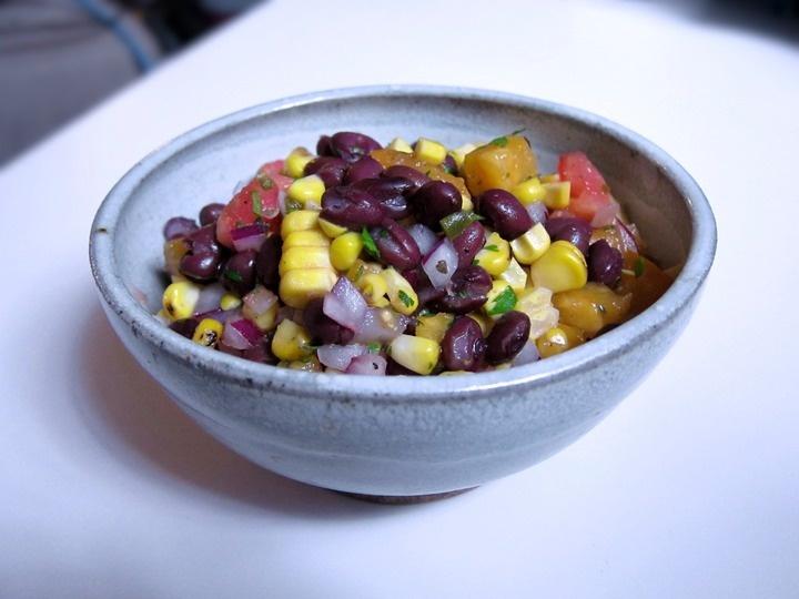 Grilled Corn and Black Bean Salad | Food Stuff | Pinterest