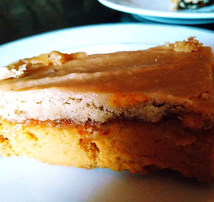 """While having PMS, I feel like eating everything that's on my way. That's the reason why I bake as much as possible while I have time to eat only things that are safe for me - gluten-free, dairy-free and yeast-free. This sweet potato """"cheesecake"""" with coconut caramel sauce has all the qualities. What would be your favourite PMS food?"""