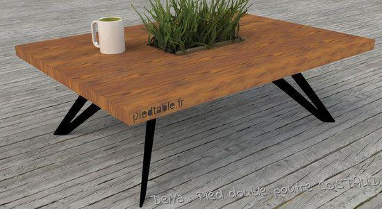 les 25 meilleures id es de la cat gorie pied de table design sur pinterest pied metal pied de. Black Bedroom Furniture Sets. Home Design Ideas