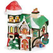Santa's North Pole Office - Department 56 North Pole village - Bronner's CHRISTmas Wonderland - $95.00