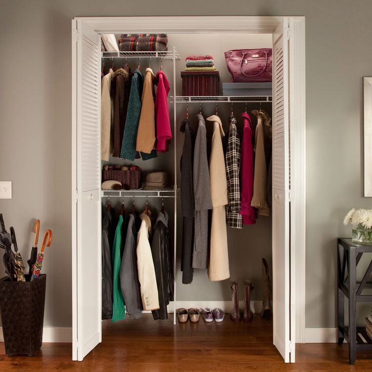ClosetMaid Up To 5 Ft. Closet Organizer   Every Inch Of Your Closet Has A  Purpose And The Fixed Mount ClosetMaid Up To 5 Ft. Closet Organizer Will  Help You ...