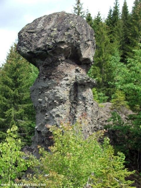 Babele Gurghiului, the big rock mushroom - #Gurghiului_mountains
