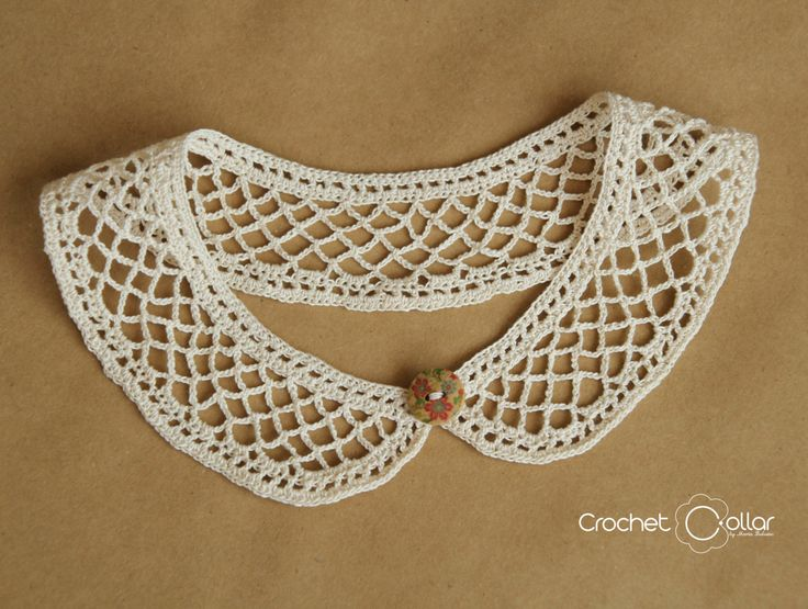 Summer Lace Crochet Collar от CrochetCollars на Etsy