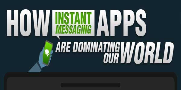 Infographic Ideas infographic messaging apps : How Instant Messaging Apps Are Dominating Our World? An Infograph ...
