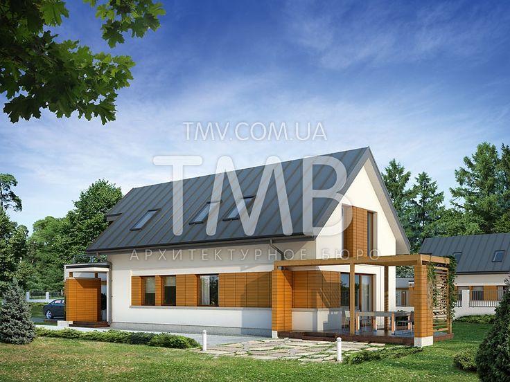 Ametyst / Аметист   ТМВ - Дома для Всех, Проекты домов и проекты коттеджей - купить и заказать проект Киев Украина