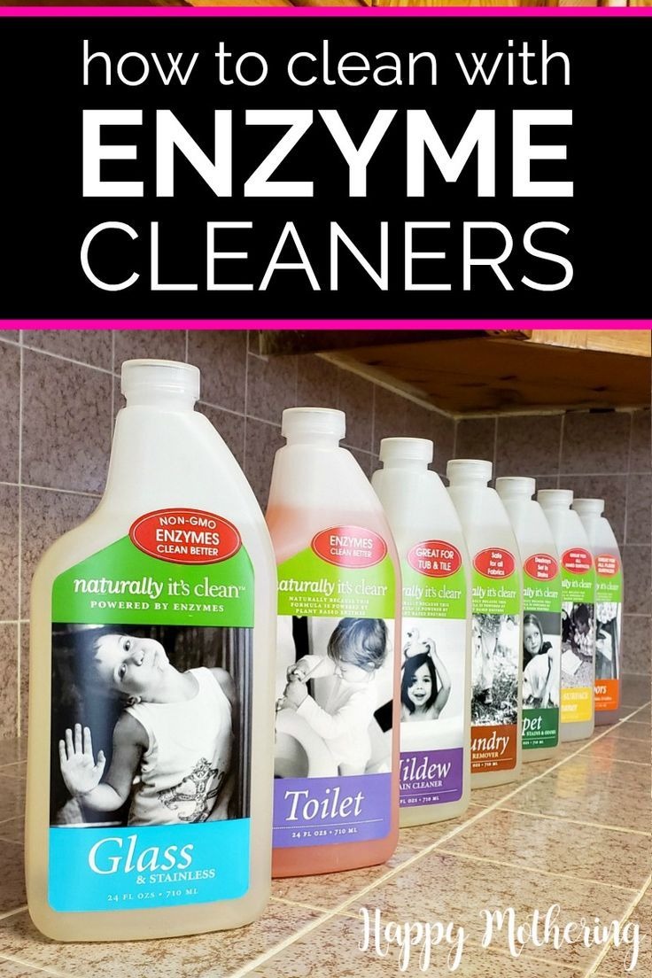 How To Clean With Enzymatic Cleaners