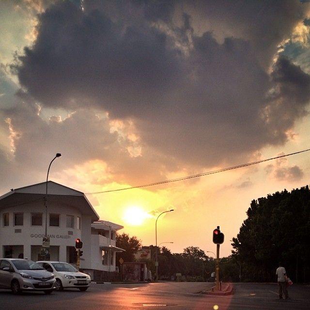 Sunday (at Johannesburg)