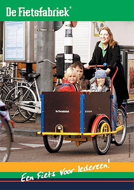 The Dutch Bike Factory. Who needs a car?;-)