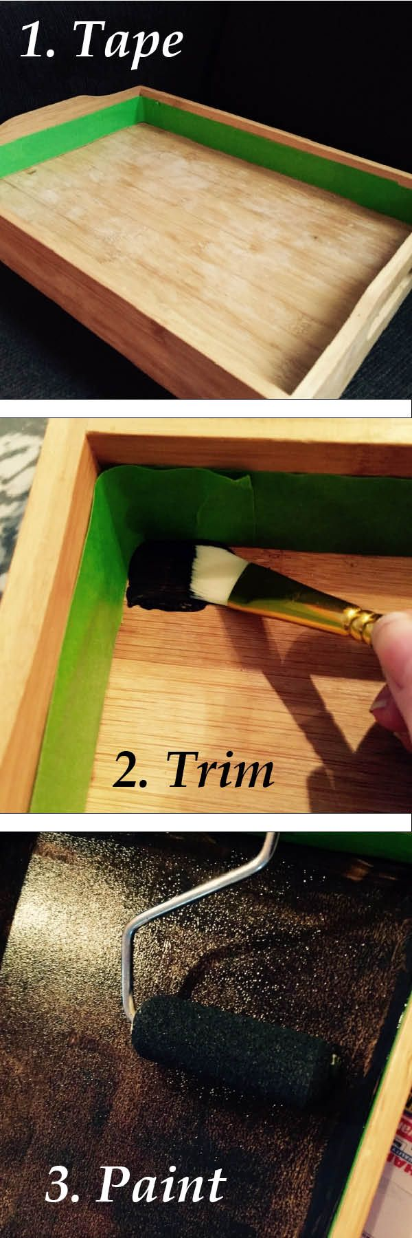 Today I want to share with you an easy DIY chalkboard tray that you can  easily pull together in an afternoon for Thanksgiving. It's a simple and  thoughtful way to dress up your table or make an impression as a host gift.  Make sure to stick around to the end for 18 other DIY gifts as part of th