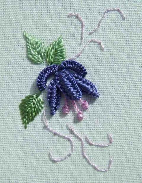 embroidery by hand | Brezilya Nakışı Örnekleri