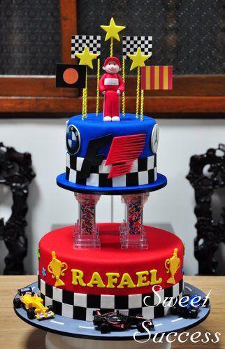 Formula 1 Racing Cake 3