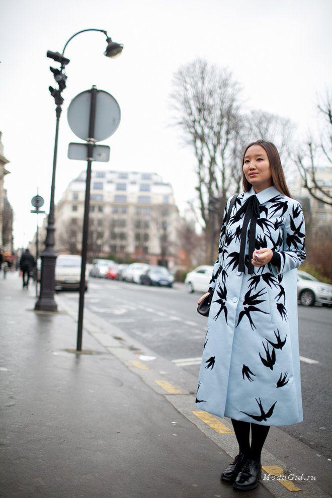 Уличная мода: Неделя высокой моды в Париже весна-лето 2016: уличная мода