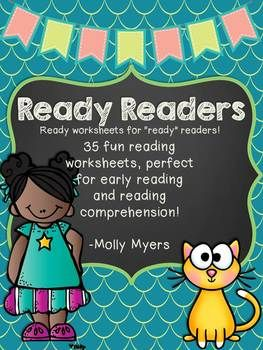 {Ready Readers} - Early Reading Comprehension Worksheets