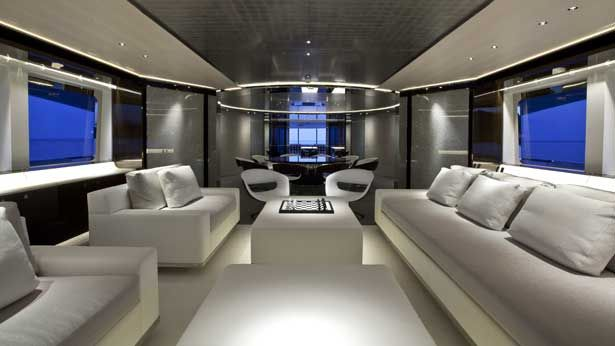 Super Boat Interior Designs