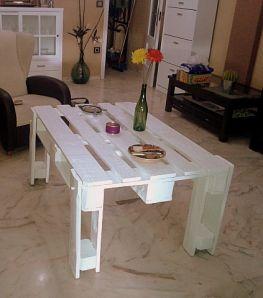Mesa de pal descubre c mo se hizo en nuestro blog - Reciclaje de pales ...