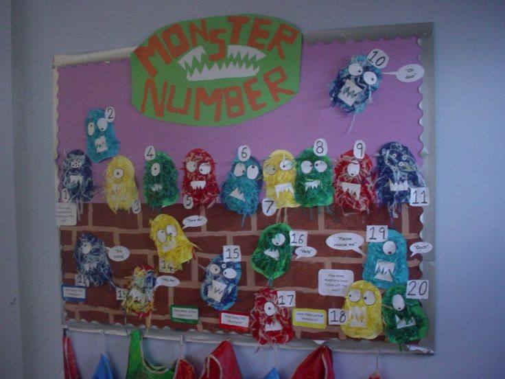 Monster Number | Teaching Photos