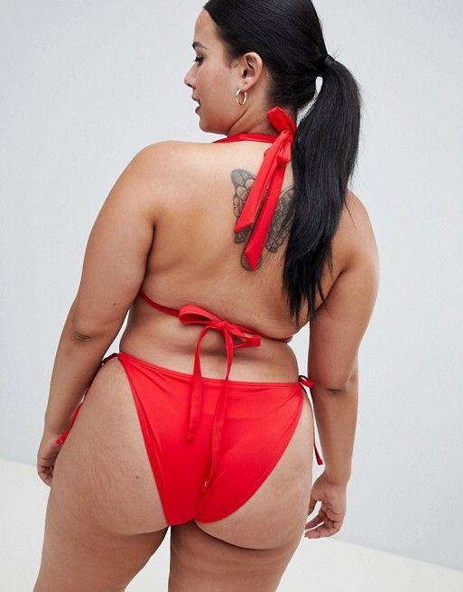 ba0a81578b1 DESIGN Curve recycled Triangle Bikini Top
