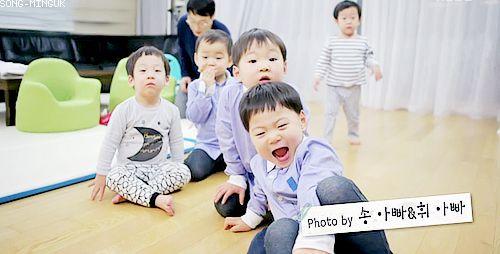 Daehan, Minguk, Manse, Seoeon and Seojun   The Return of Superman