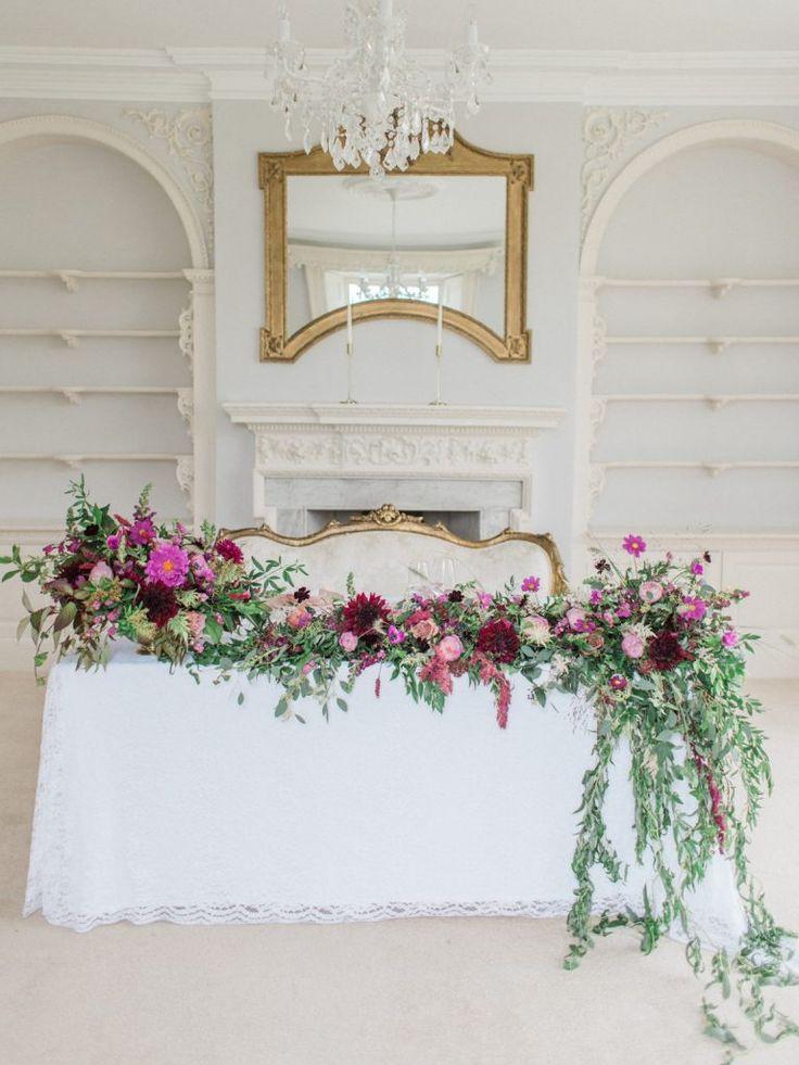 Luxe Pink Winter Wedding Inspiration with the Fine Art Wedding Boutique #weddingideas #weddingplanning